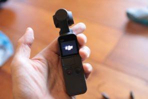 DJI Osmo Pocket 小型ジンバルカメラで手軽に動画撮影