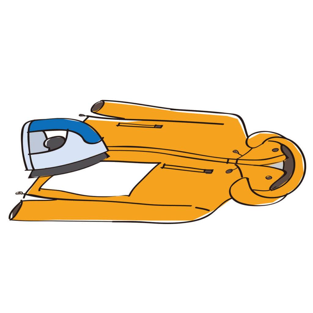 GORE-TEX ウェアの乾燥方法