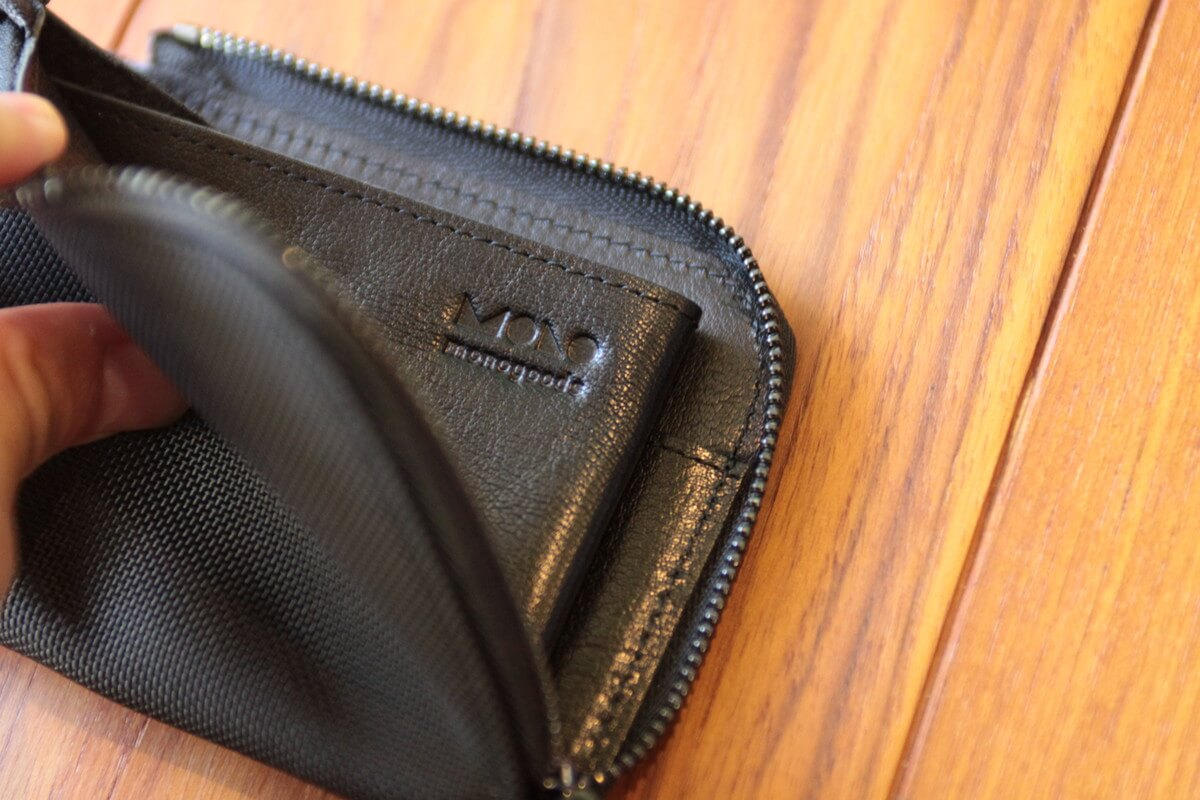 カードが取り出しやすく見つけやすい財布