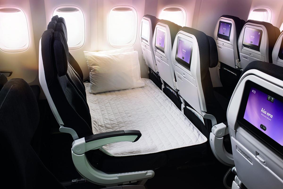 ニュージーランド航空のプチ贅沢エコノミースカイカウチ