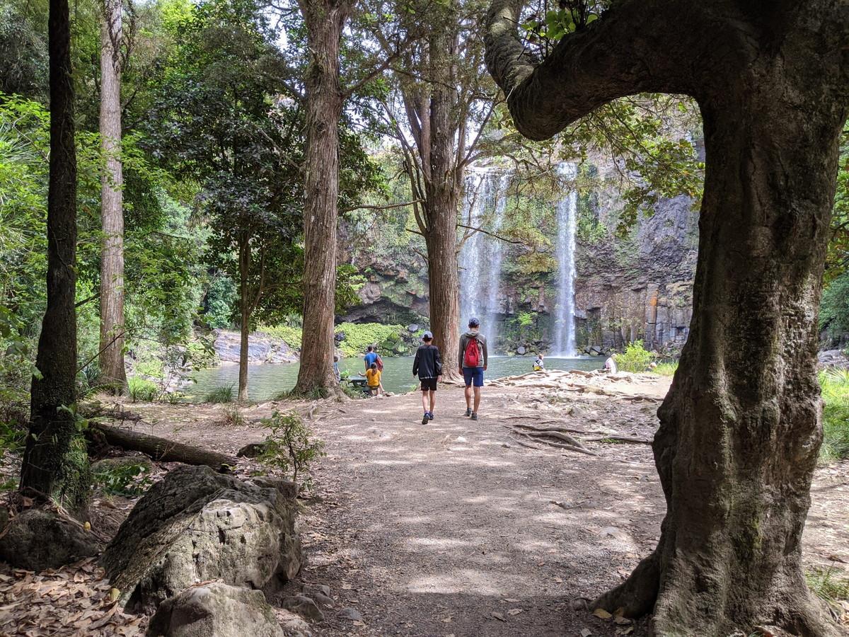 ファンガレイフォールズの滝