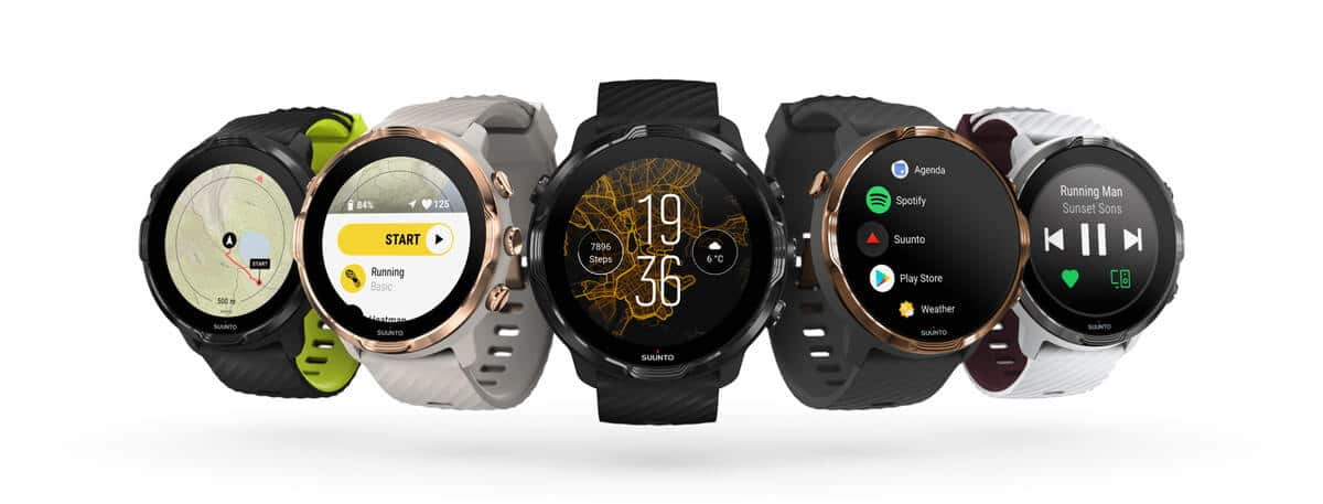 "Wear OS by Google™を搭載したスポーツ ""スマート"" ウォッチ 『 Suunto 7 』新登場"