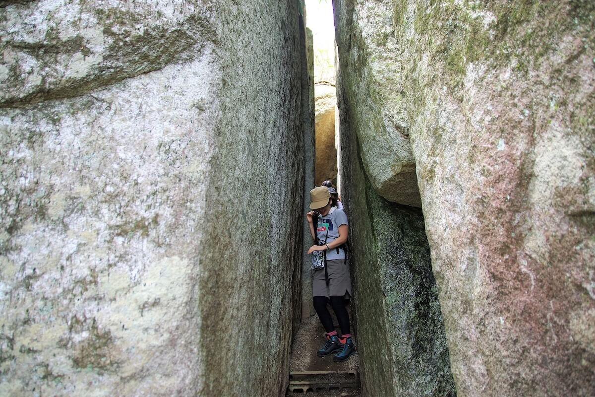 山旅のテーマは「石割山×天岩戸伝承」