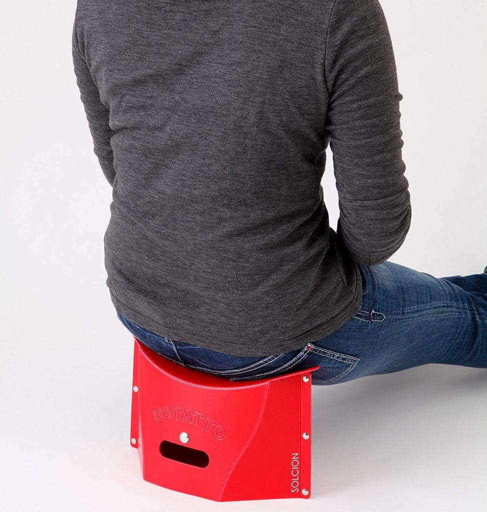 折りたたみ椅子 PATATTO mini 登山に便利