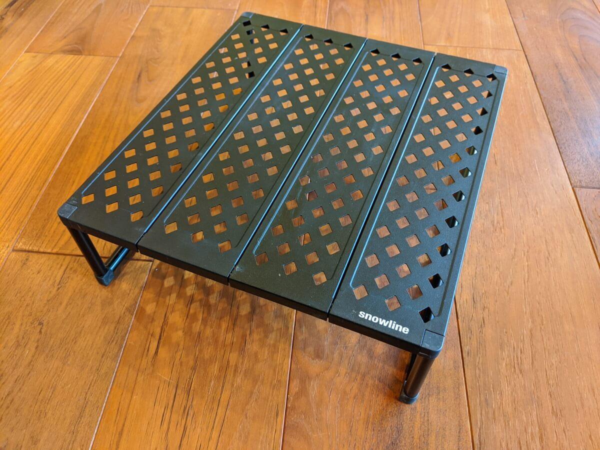 軽量テーブル snowlineキューブグラウンドテーブル
