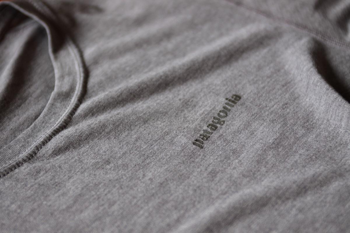 キャプリーン・クールトレイルシャツの風合い
