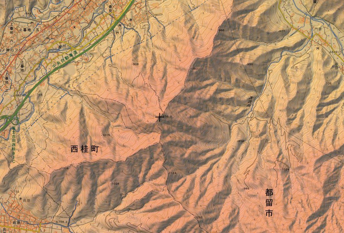 倉見山について