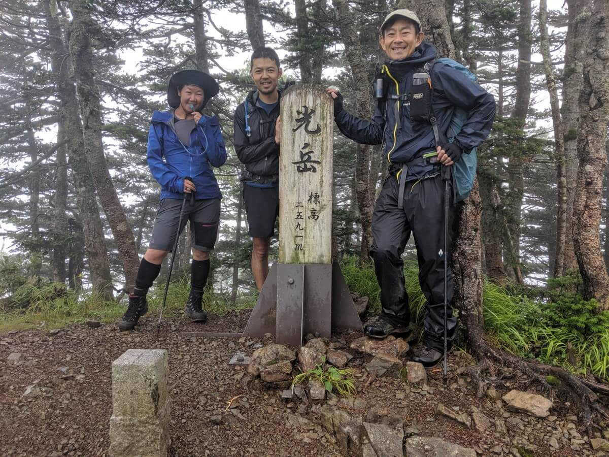 光岳(てかりだけ)の登山