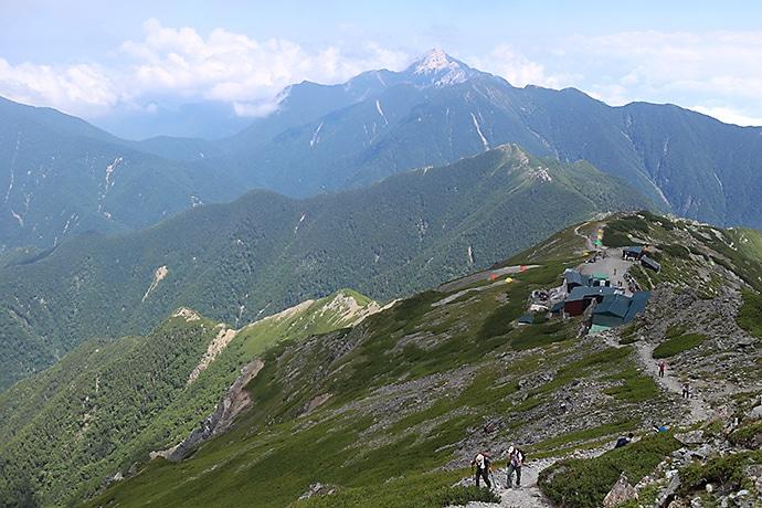 北岳(きただけ)の登山