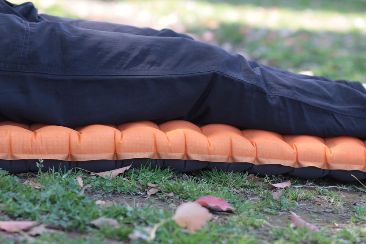 NEMO登山用テントマット「テンサーアルパイン」の寝心地