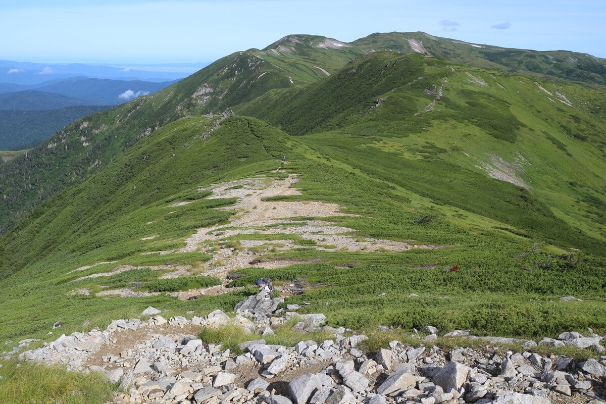 黒部五郎岳(くろべごろうだけ)の登山