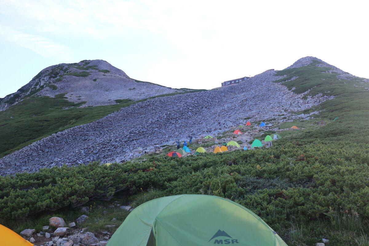 笠ヶ岳(かさがたけ)の登山