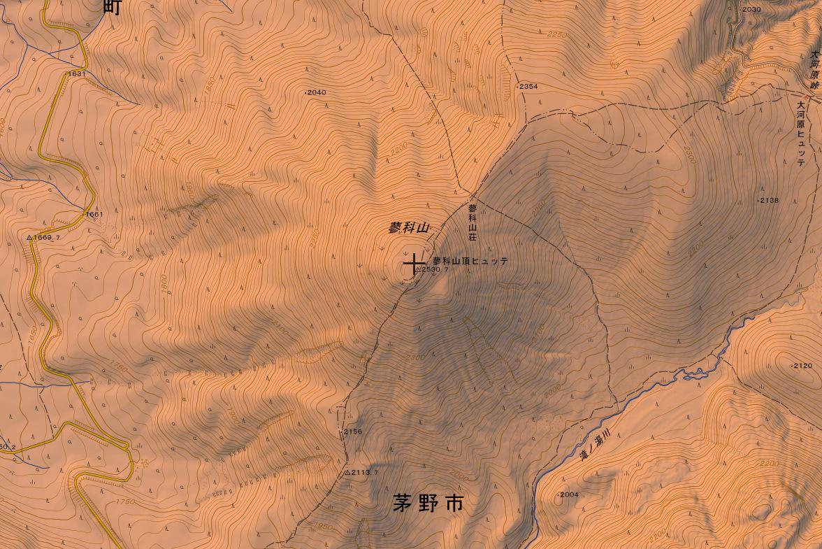 蓼科山の登山ルート・難易度