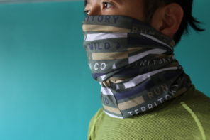 ランニングマスクに使えるBUFFより薄手の多機能バンダナ