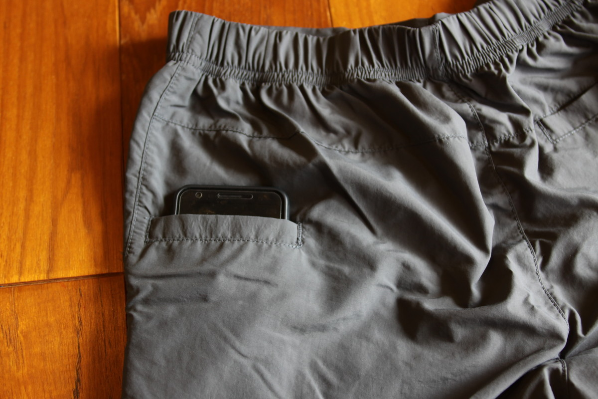 ゼログラム インヨーハイカーショーツのポケット1