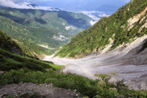 大雪渓から白馬岳 登山ルート・難易度・時期