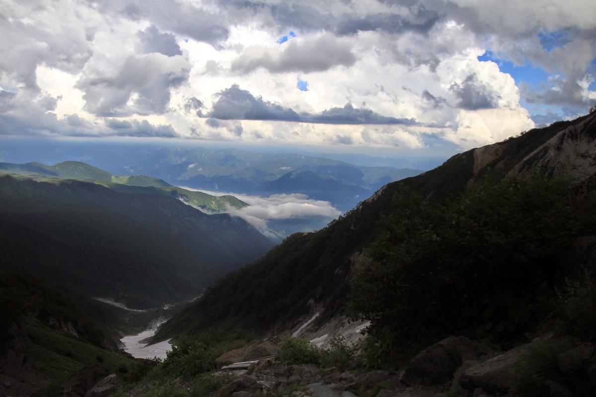 白馬岳へのルート