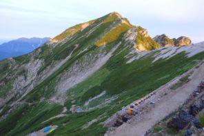 唐松岳から八方尾根登山ルート・難易度・時期