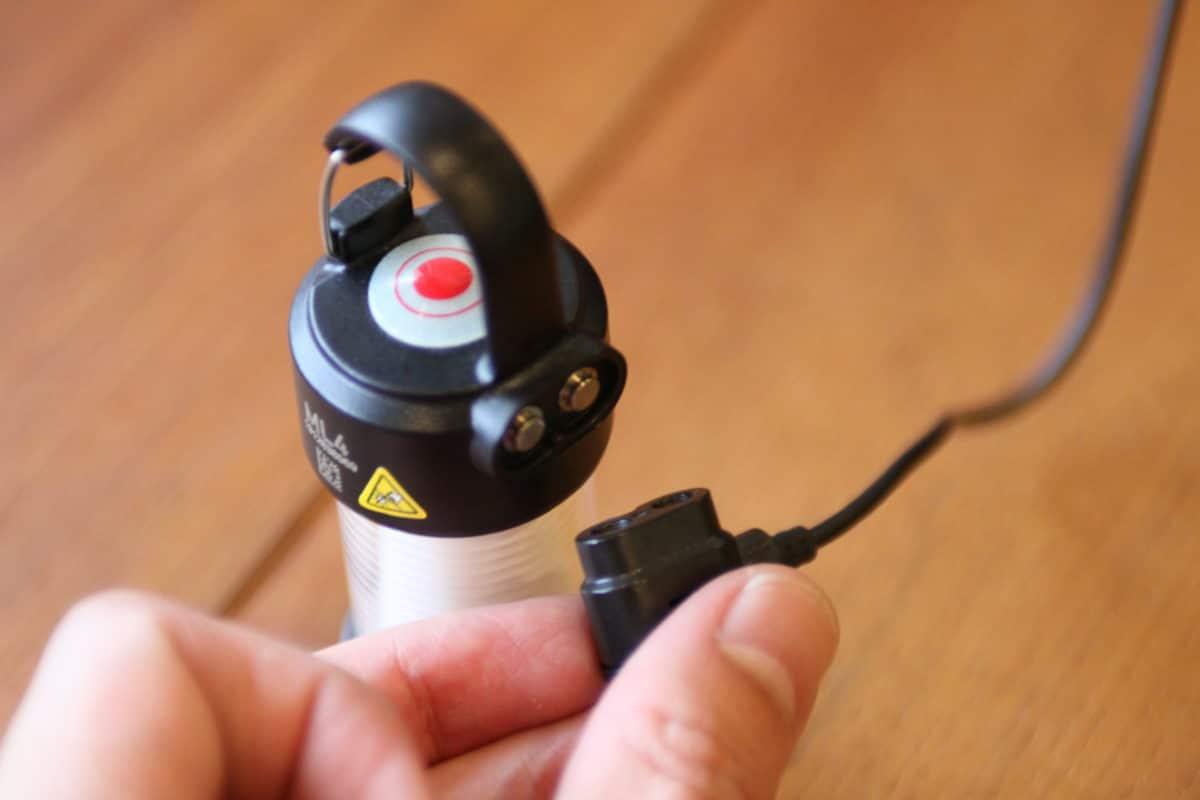 レッドレンザーML4 充電方法