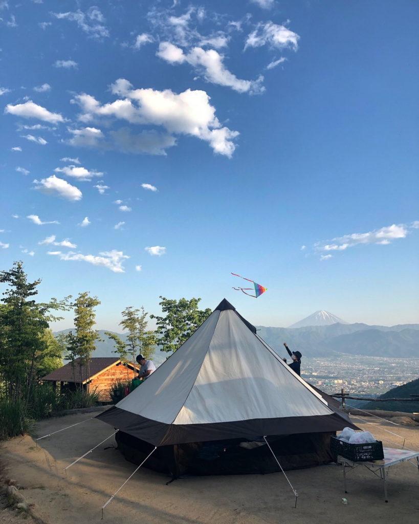 キャンプ ほったらかし
