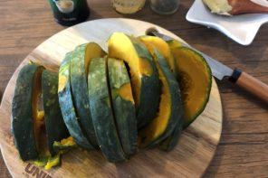 旬の食材「かぼちゃ」を使用した山ごはん