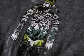 スマートウール メリノスポーツ150 デザインTシャツがCOOL