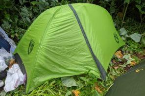 NEMOホーネットストーム 1P 最軽量で居住性が快適なテント