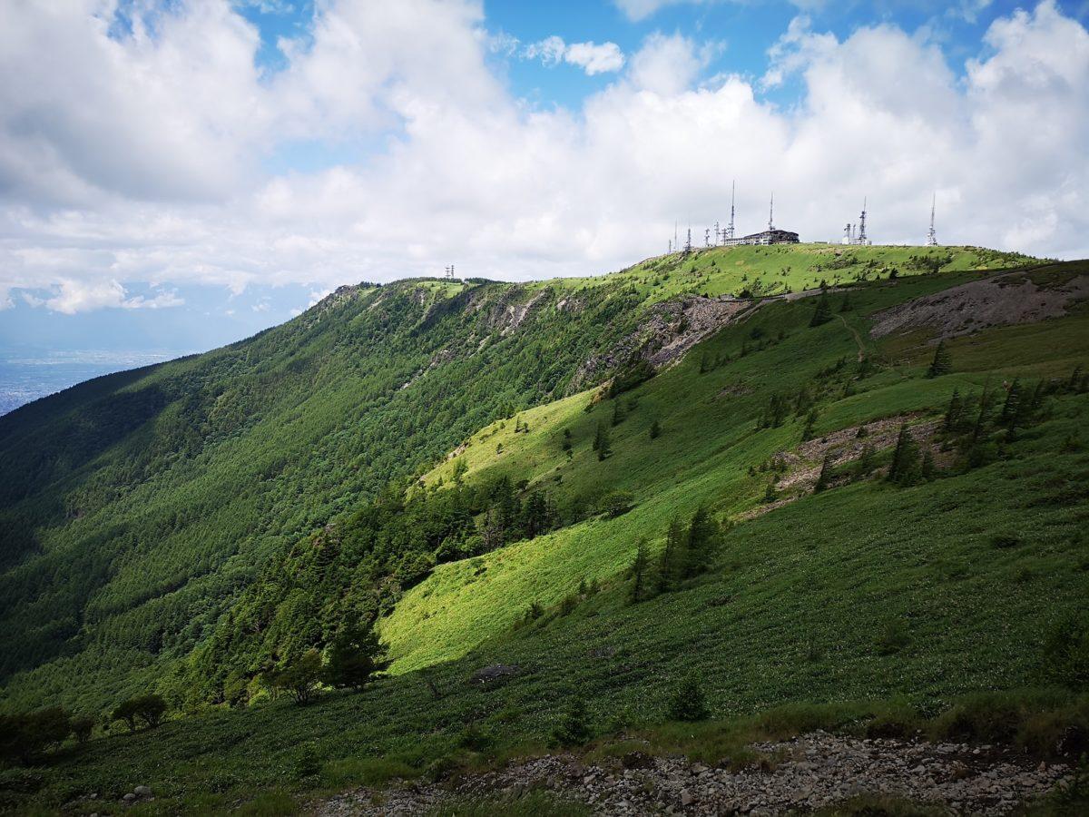 美ヶ原登山