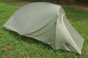 軽量且つ安心感のある登山用テント『ビッグアグネス フライクリークHV UL1』