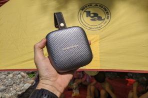 キャンプで良質な音楽を楽しむ Harman Kardon NEO ポータブルBluetoothスピーカー