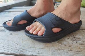 日本人の足の特徴を抑えたrig リカバリーサンダル