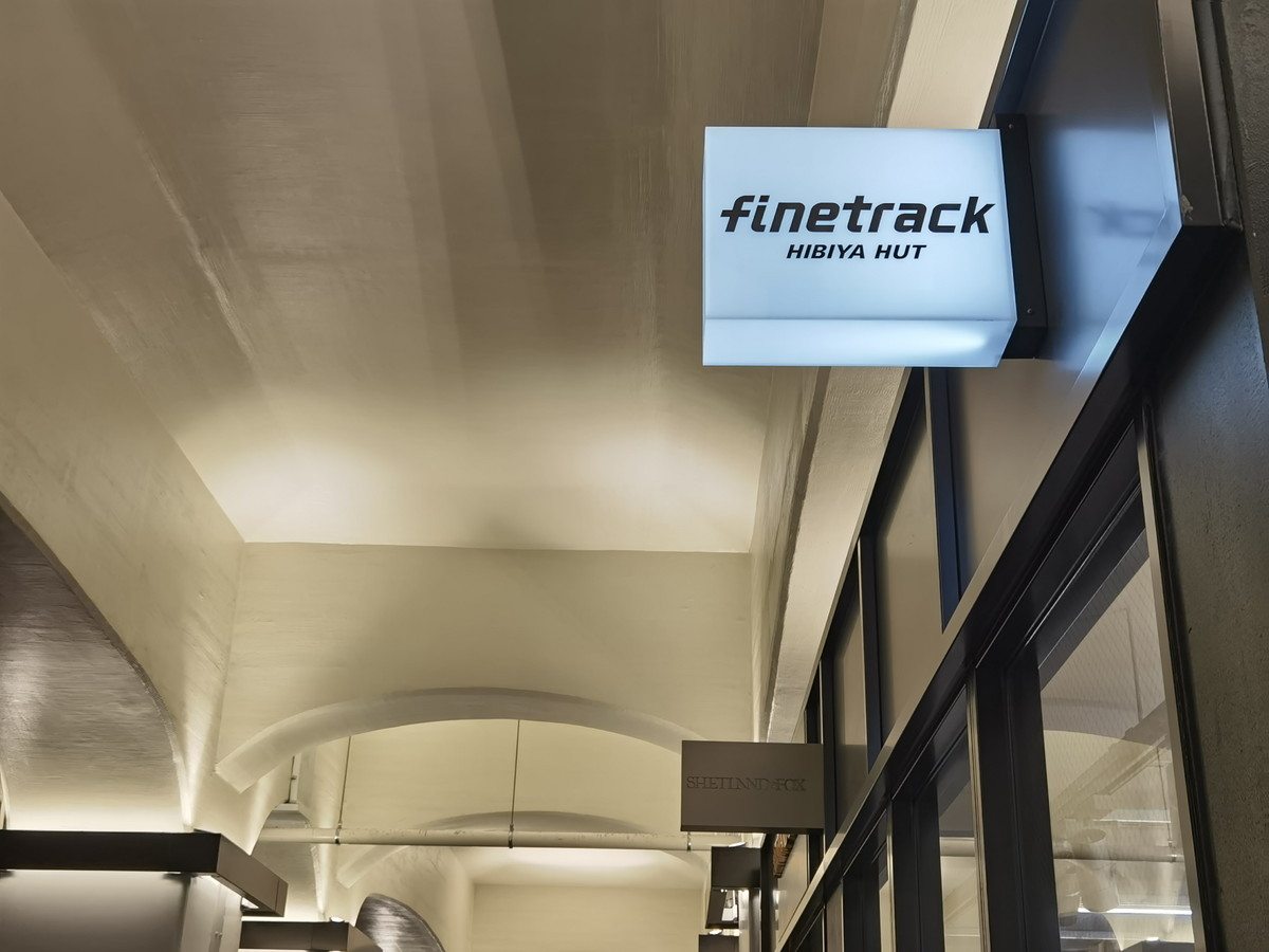 finetrack HIBIYA HUT