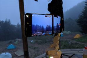 DJI OM 4 スマホ動画撮影用スタビライザー 登山の景色を動画に