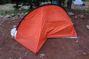 テントとツエルトの良いところ取りファイントラック『カミナ モノポール』