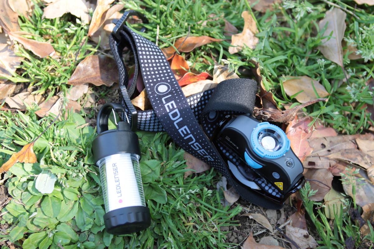 登山用ヘッドライト レッドレンザー MH5とセットで