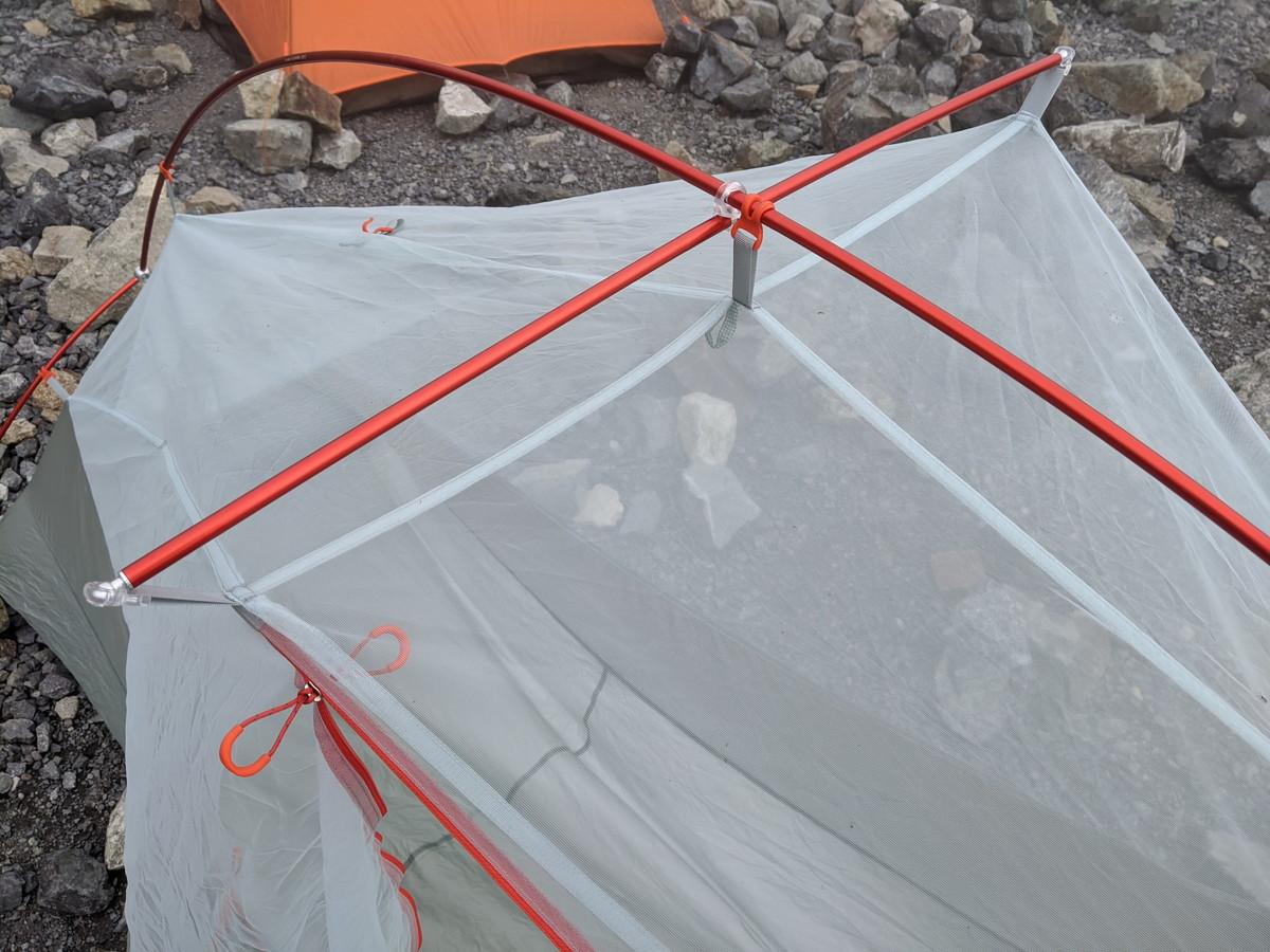 ビッグアグネスのテント コッパースプール ポール