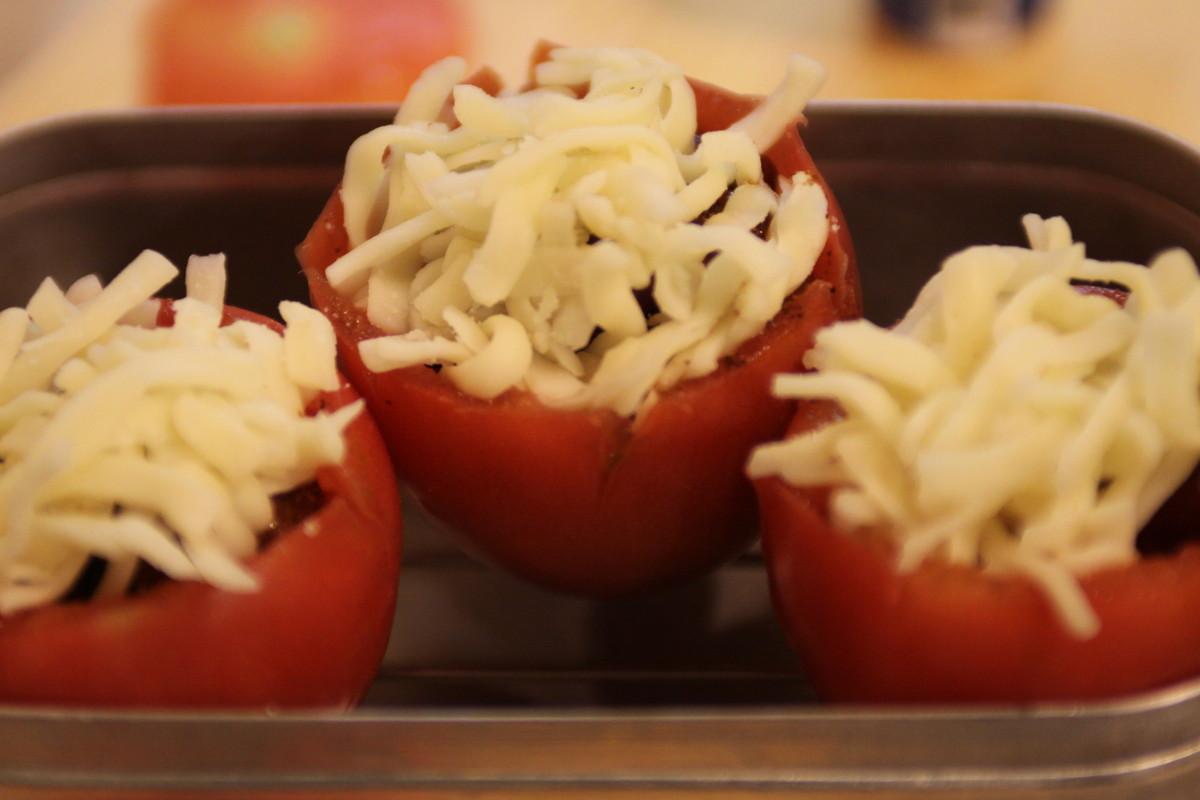 メスティン トマト チーズ