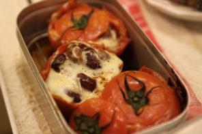 メスティンで作るおつまみレシピ「チリコーントマト」