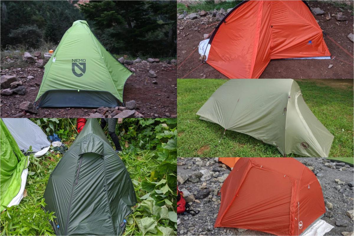 様々な視点で選択が可能なテント本体