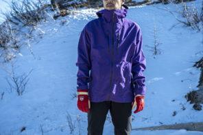 パタゴニアのハードシェル トリオレットジャケット−冬山登山の強い味方