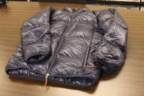 ナンガ マウンテンロッジダウンジャケット 軽量コンパクトなのに暖かい
