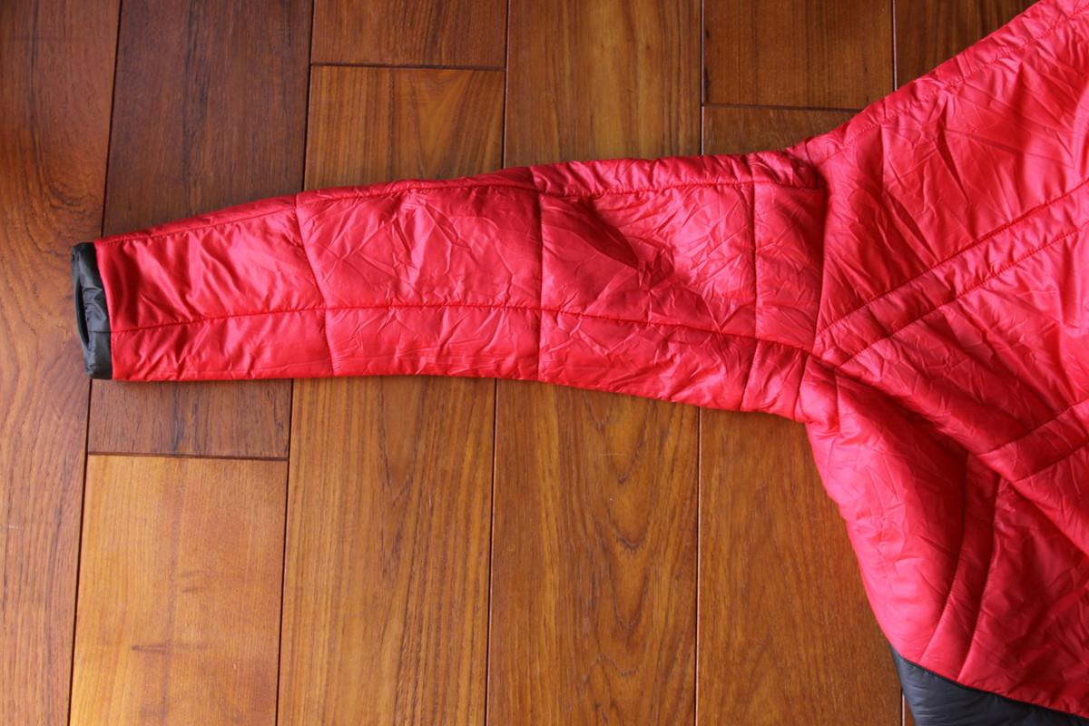 キルティング ゼログラム 化繊ジャケット