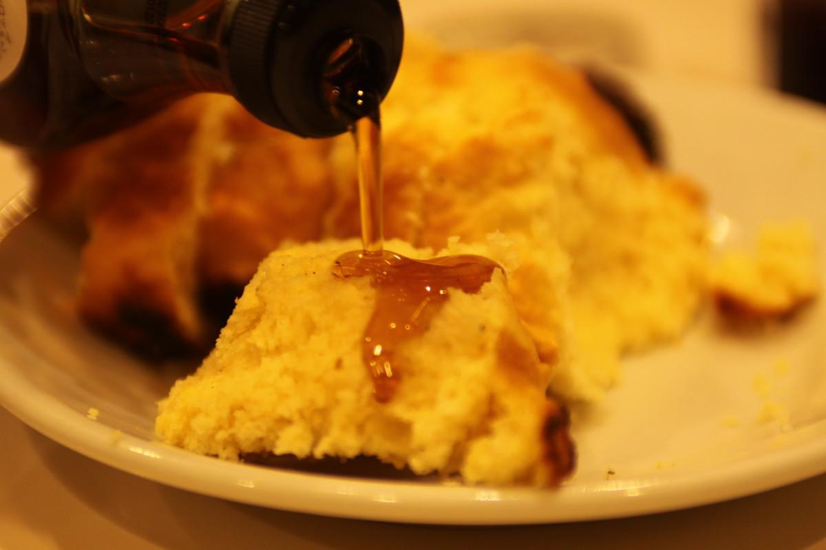 メスティン デザート レシピ パンケーキ