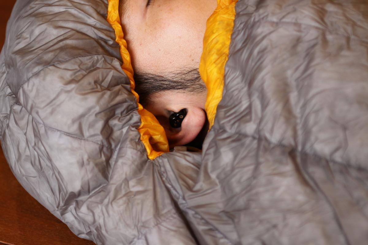 電子耳栓QuietOn sleep 睡眠時