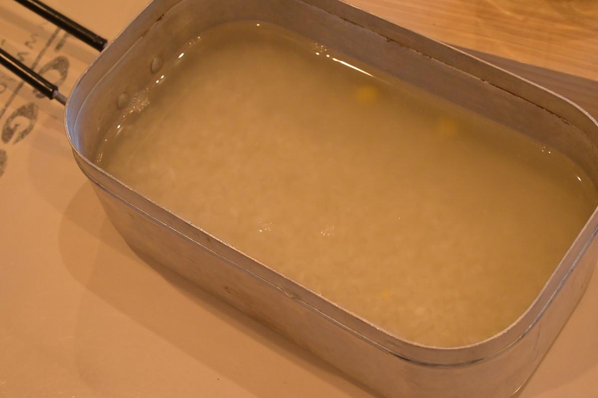 メスティンレシピ 炊き込みご飯 レシピ2