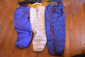 ダウンシュラフ(寝袋)の選び方-おすすめの登山シュラフ