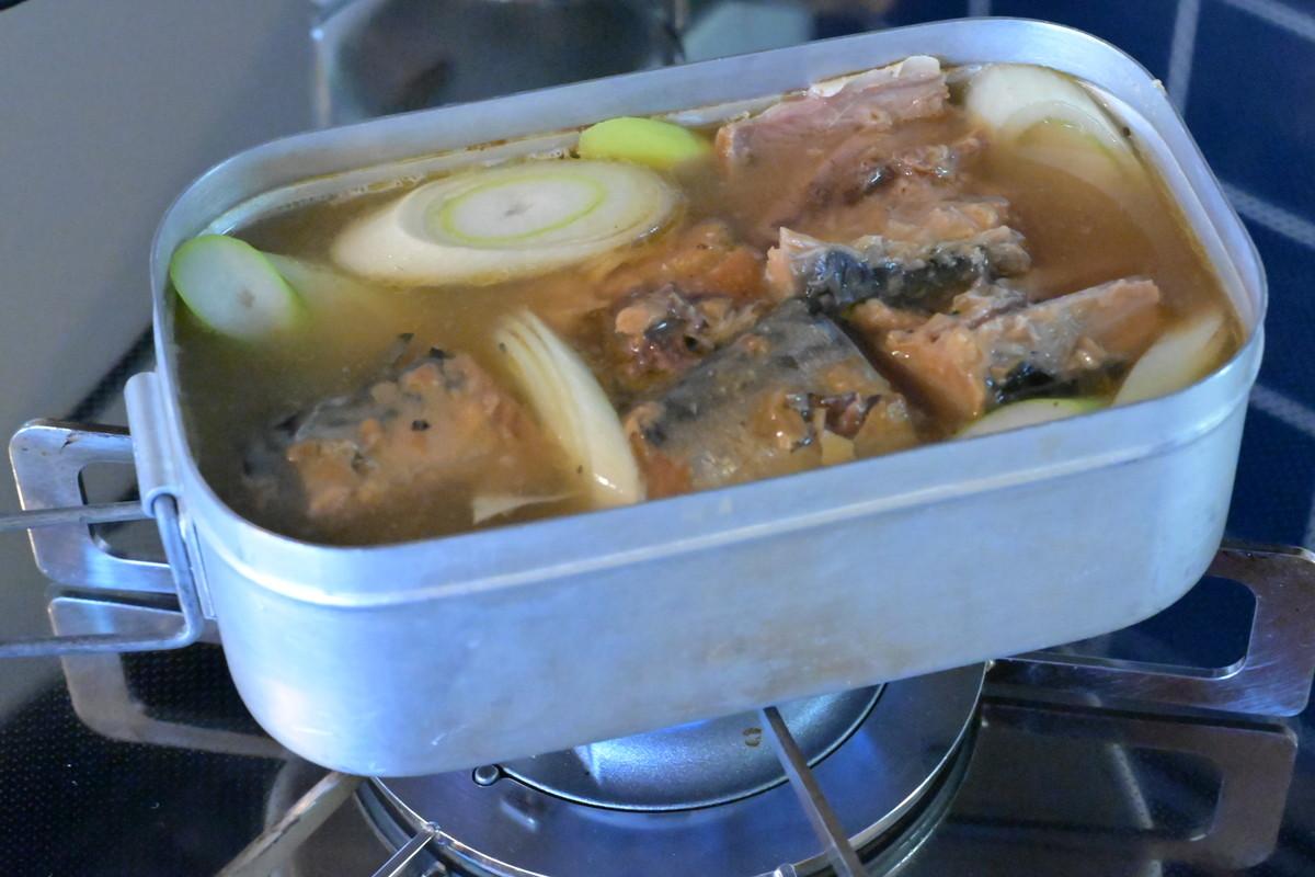 メスティンレシピ 缶詰 炊き込みご飯 レシピ4