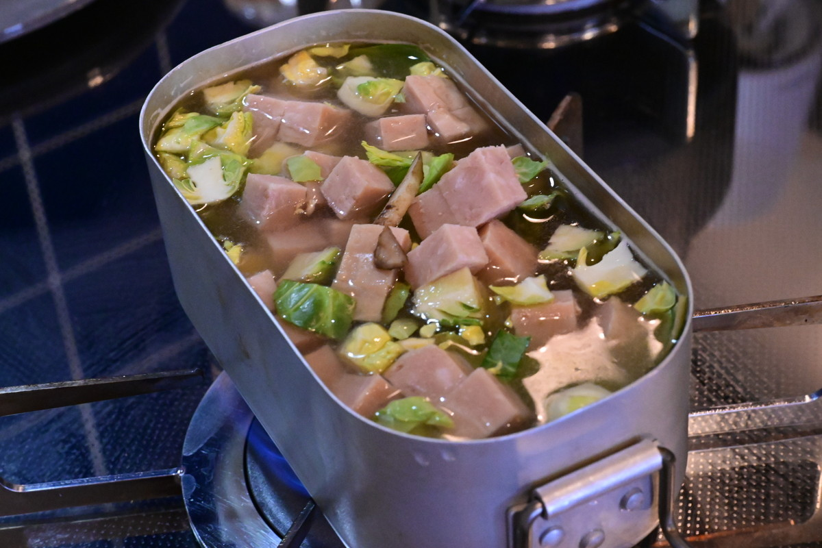 ダイソーメスティン 炊き込みご飯 作り方