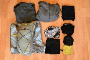 冬のトレイルランの服装は汗対策が重要