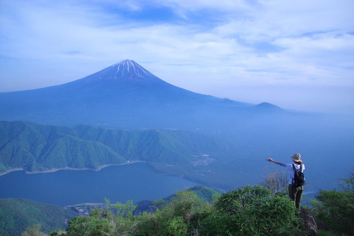 王岳 鬼ヶ岳 富士山